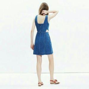 Madewell Denim Cutout Dress